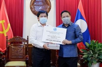 Đà Nẵng hỗ trợ các tỉnh Nam Trung Lào phòng, chống dịch COVID-19