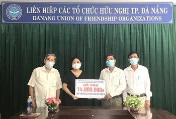 Hội hữu nghị Việt Nam - Lào TP Đà Nẵng vận động ủng hộ nhân dân Lào chống Covid-19