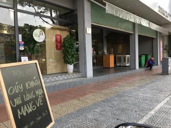 Hàng quán tại Đà Nẵng lại phải đóng cửa phòng dịch
