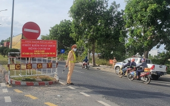 Đà Nẵng nâng mức kiểm soát với xe chở hàng hóa từ vùng dịch