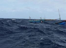 Tàu hàng bỏ chạy sau khi đâm chìm tàu cá