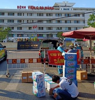 Đà Nẵng: Trao hơn 100.000 khẩu trang và nhu yếu phẩm cho 3 bệnh viện bị phong tỏa