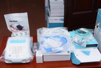 Mực sở thị 100 máy thở được Vingroup trao tặng Đà Nẵng