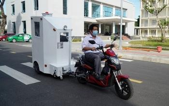 Độc đáo sáng chế cabin di chuyển bệnh nhân Covid-19 ở Đà Nẵng
