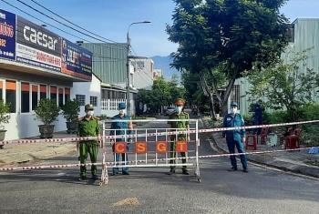 Cảnh giãn cách xã hội theo chỉ thị 16 tại 4 phường ở Đà Nẵng