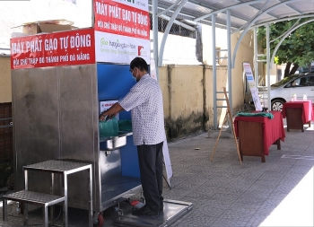 Độc đáo ATM gạo nhận diện khuôn mặt ở Đà Nẵng