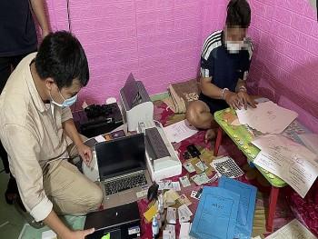 Triệt phá đường dây mua bán, làm giả giấy tờ quy mô lớn ở Quảng Nam