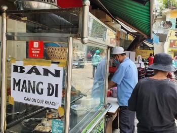 Vùng xanh Đà Nẵng được bán mang về, nhiều chủ quán vui mừng