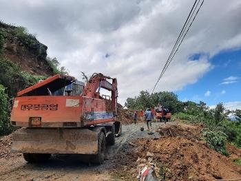 Vụ sat lở ở Trà Leng: Nhiều điểm sạt lở trên tuyến đường tiếp cận vùng bị nạn