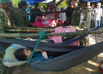 Vụ sạt lở đất ở Trà Leng: Cứu sống được 33 người, nhiều người vẫn mất tích