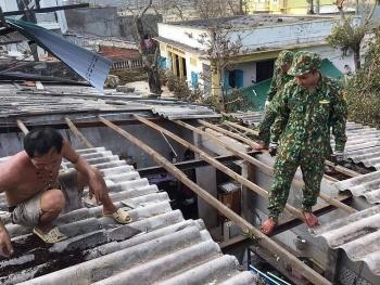 Đảo Lý Sơn thiệt hại nặng, cấp tập khắc phục hậu quả sau bão số 9