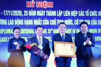 Liên hiệp các tổ chức hữu nghị thành phố Đà Nẵng đón nhận Huân chương Lao động hạng nhất