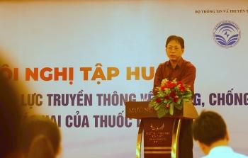 Bộ Thông tin Truyền thông tổ chức tập huấn phòng chống tác hại của thuốc lá tại Đà Nẵng