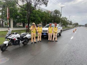 CSGT Đà Nẵng ra quân bảo đảm ANTT, bảo vệ tuyệt đối an toàn Đại hội Đảng