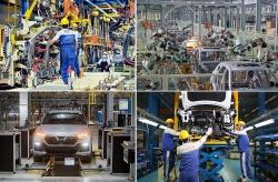 """Công nghiệp ô tô Việt hồi sinh, """"tứ hổ"""" tranh hùng"""