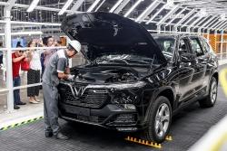 Phí trước bạ ô tô lắp ráp trong nước chính thức được giảm 50%