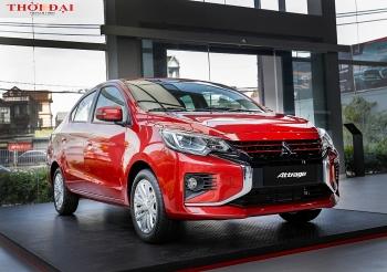 Mitsubishi giới thiệu thêm bản Attrage mới, giá cao nhất 485 triệu đồng
