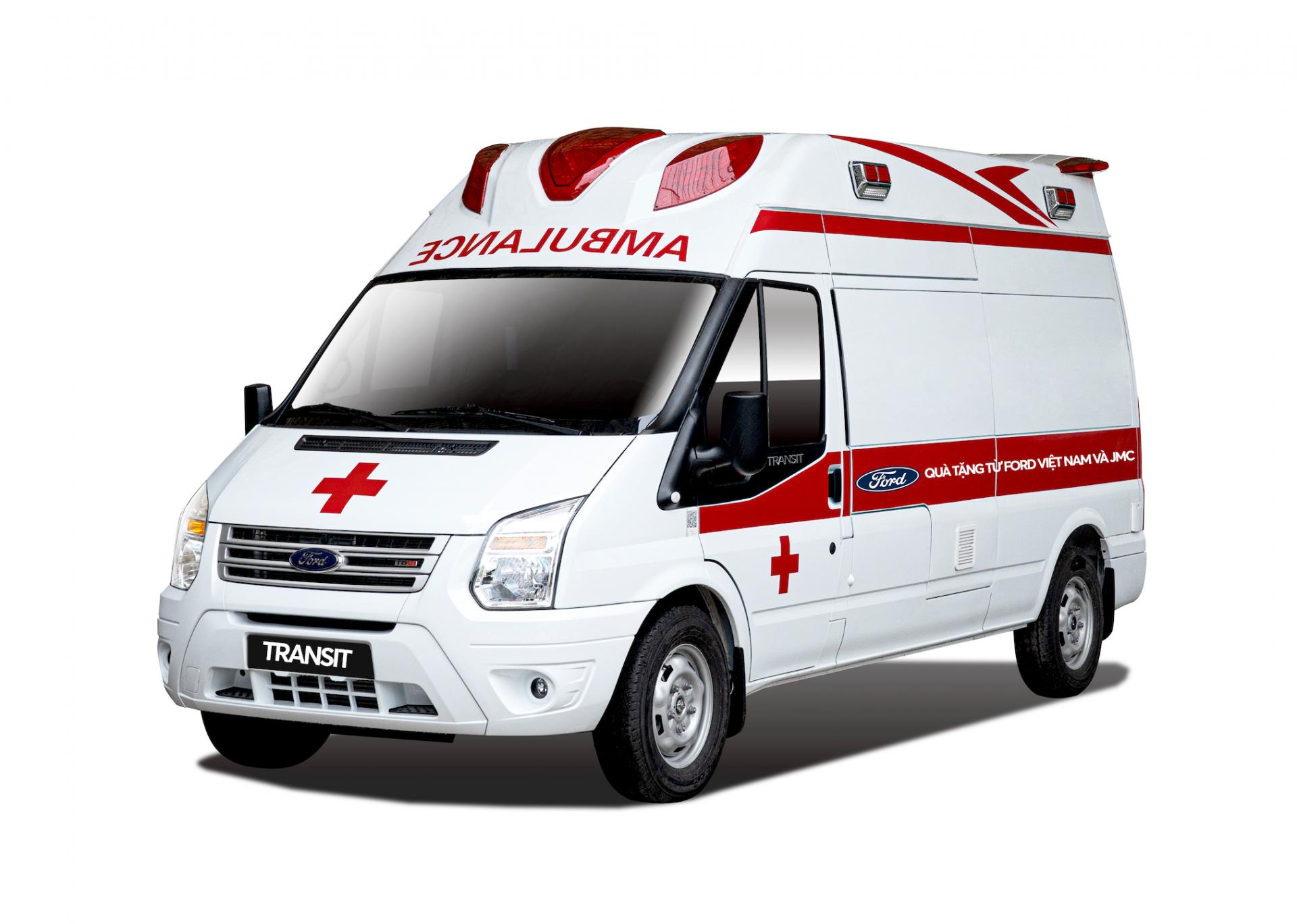 Ford tặng xe Transit cứu thương áp lực âm cho Bệnh Viện Nhiệt Đới Trung Ương
