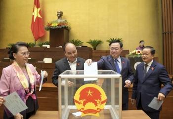 Quốc hội tiến hành bầu một số Phó Chủ tịch Quốc hội