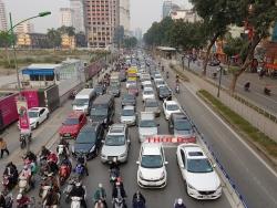 Hà Nội sẽ cấm taxi, xe tải hoạt động giờ cao điểm trên 11 tuyến phố