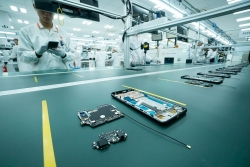 Vingroup khởi công nhà máy điện thoại thông minh công suất 125 triệu máy/năm