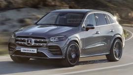 Mercedes GLC 2022 lộ hình ảnh đầu tiên, khẳng định