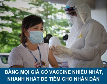 Hơn 5,5 triệu liều vắc xin COVID-19 đã được tiêm chủng tại Việt Nam