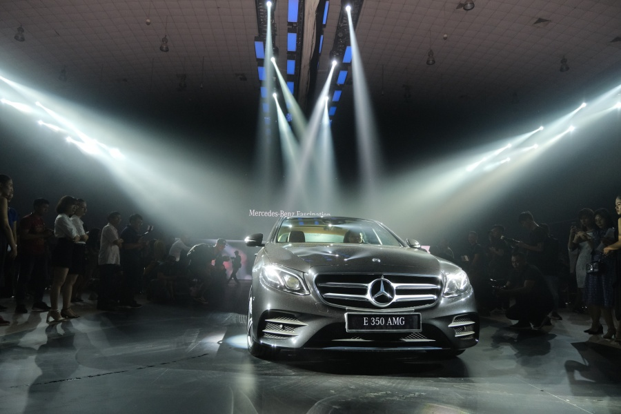 trien lam mercedes benz fascination 2019 co gi dang xem