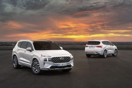 Hyundai giới thiệu Santa Fe 2021 tại Hàn Quốc, giá từ 620 triệu đồng