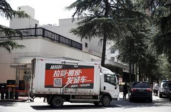 Trung Quốc đóng cửa lãnh sự quán Mỹ ở Thành Đô, hàng nghìn người dân kéo đến xem