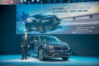 Honda giới thiệu CR-V lắp ráp: Thêm trang bị quan trọng, giá tăng 25 triệu đồng