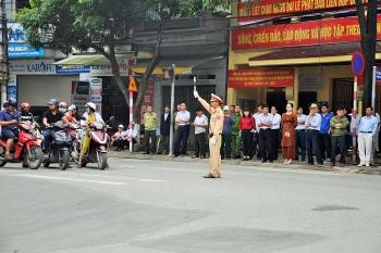 Hà Nội phân luồng giao thông lễ Quốc tang nguyên Tổng Bí thư Lê Khả Phiêu