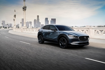 Mazda CX-30 mới gia tăng sức mạnh với động cơ tăng áp