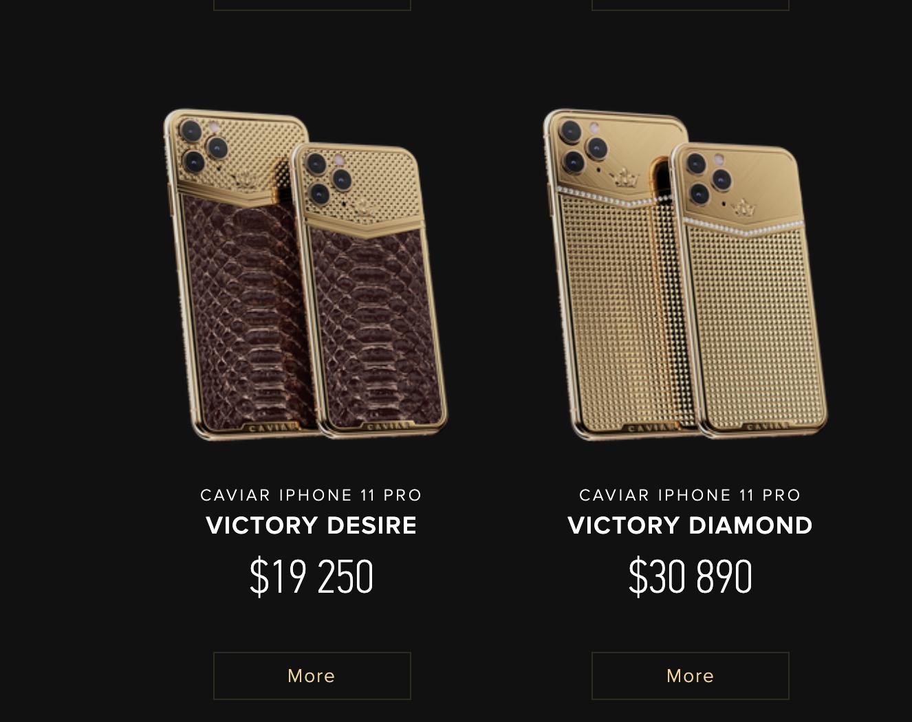vi sao chiec iphone 11 pro max cua caviar co gia hon 700 trieu