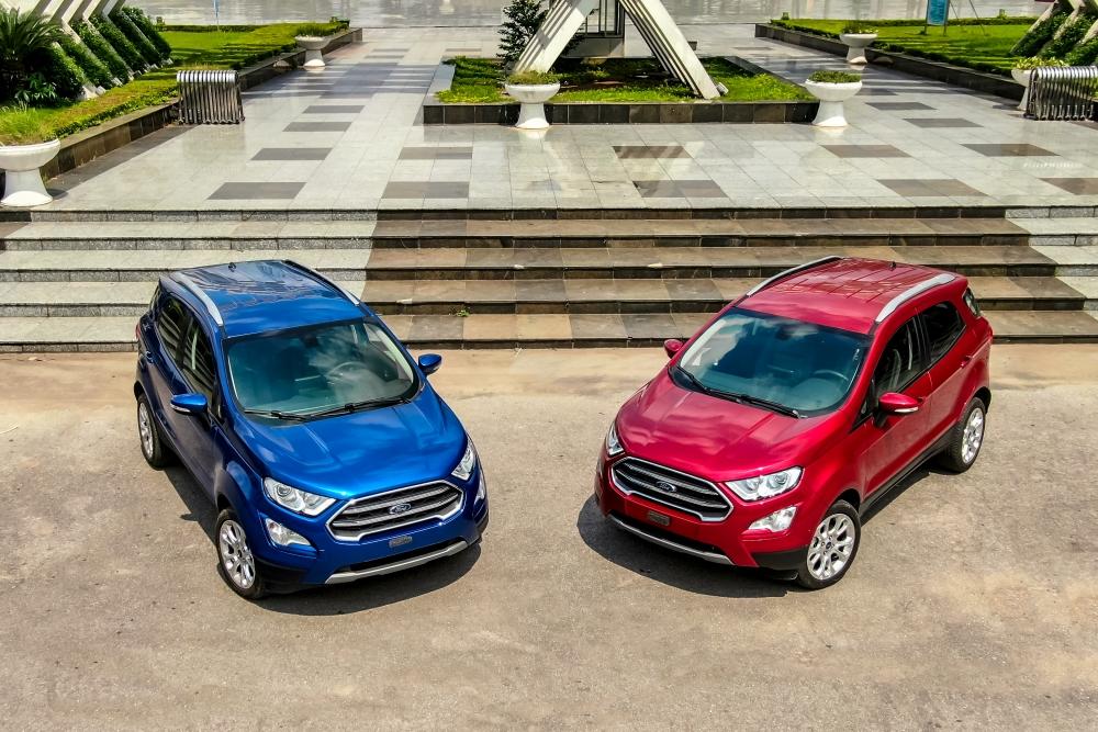 Ford EcoSport 2020 ra mắt, bỏ lốp dự phòng và thêm nhiều công nghệ