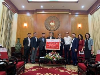 Honda Việt Nam hỗ trợ 5 tỷ đồng giúp người dân các tỉnh miền Trung vượt qua khó khăn