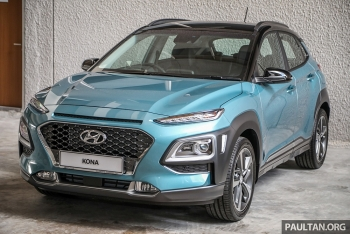 Hyundai nâng cấp Kona tại thị trường Malaysia