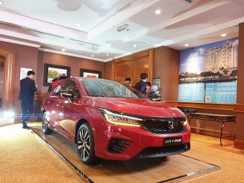 Honda City 2021 lộ ảnh thực tế trước ngày ra mắt khác hàng Việt