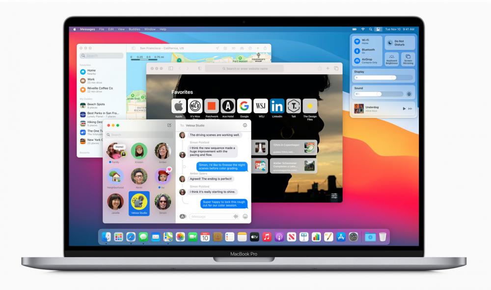 Apple phát hàng bản bản cập nhật macOS Big Sur, tải về hơn 12G dữ liệu