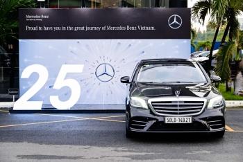 Hơn 40 nghìn xe sang Mercedes-Benz chính hãng được bán ra tại Việt Nam trong 25 năm