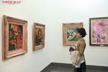 Triển lãm tranh vinh danh hoạ sĩ Bùi Xuân Phái thu hút nhiều sự quan tâm