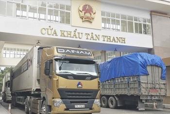 Cửa khẩu Tân Thanh đã hoạt động bình thường sau khi đột ngột tạm dừng