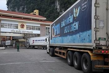 Quy định giao nhận hàng tại cửa khẩu Tân Thanh sẽ thay đổi?