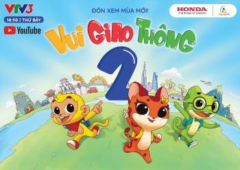 """Chương trình """"Tôi yêu Việt Nam"""" - phiên bản """"Vui giao thông"""" dành cho lứa tuổi mầm non đã trở lại"""
