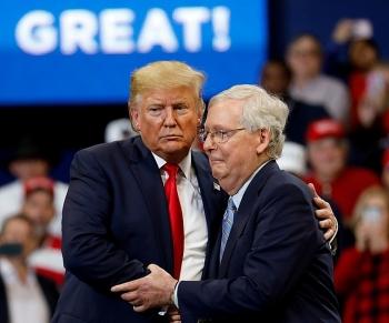 Lãnh đạo thượng viện Mỹ kiên quyết bảo vệ Tổng thống Trump