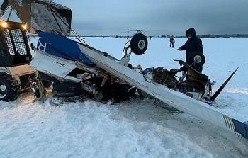 Máy bay Nga gặp nạn, 3 người thiệt mạng