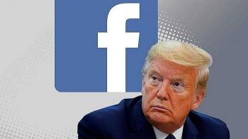 Facebook bất ngờ trả lại tài khoản cho ông Trump nhưng từ chối tư cách tổng thống Mỹ