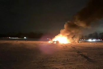 Trực thăng Vệ binh quốc gia Mỹ gặp nạn ở khu ngoại ô New York, 3 người tử nạn