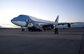 """Căn cứ """"Không lực Một"""" bị đột nhập ngay trước ngày ông Biden bay chuyến đầu tiên"""