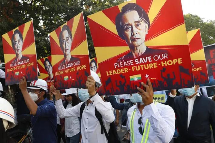 Quân đội Myanmar gia hạn giam giữ bà Aung San Suu Kyi